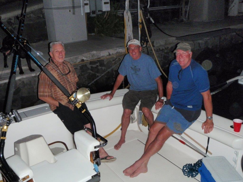 FISHING-MIKE-STEVE-JIM MEDLIN