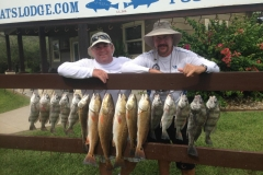 FISHING-MIKE-DAVE-fish on rail